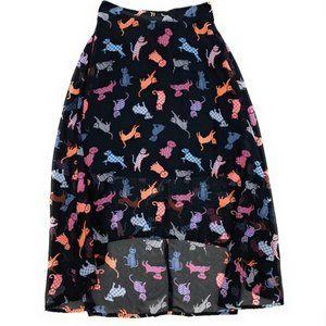 D-Signed Disney CAT Girl's sheer skirt XS